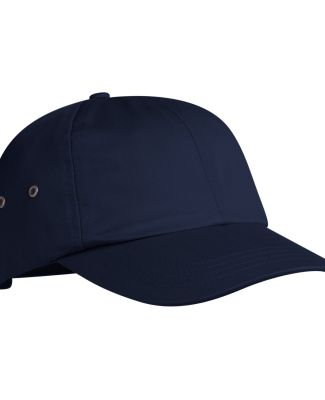 Port & Company CP81 Twill Dad Hat with Metal Eyele Navy