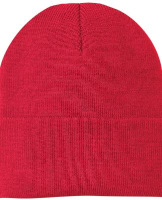 Port & Company CP90 Knit Beanie Athletic Red