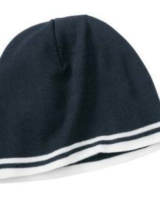 Port & Company CP93 Fine Knit Skull Cap with Stripes Catalog