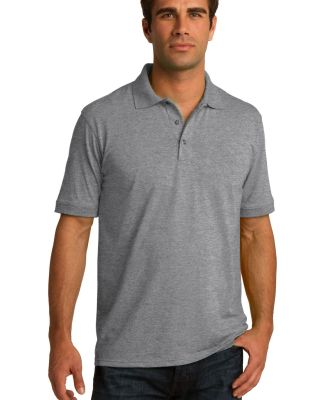 Port & Company KP55 Jersey Knit Polo Athletic Hthr