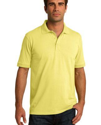 Port & Company KP55 Jersey Knit Polo Yellow