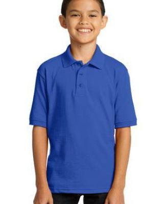 Port & Company KP55Y Youth 5.5-Ounce Jersey Knit Polo.  Catalog