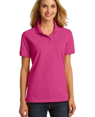 Port & Company LKP150 Ladies Cotton Pique Polo Sangria