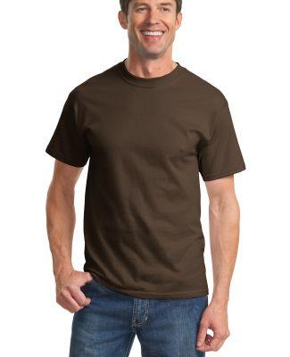 Port & Company PC61T Tall Essential T-Shirt Brown