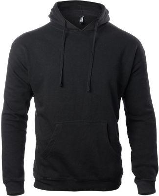 Ei-Lo 9380 Unisex Pullover Fleece Hoodie Black