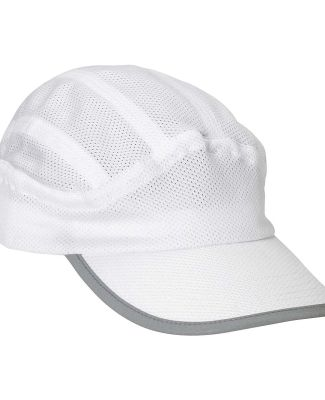 BA503 Big Accessories Mesh Runner Cap WHITE