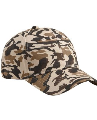 BX024 Big Accessories Structured Camo Hat DESERT CAMO