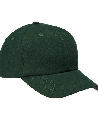 BA528 Big Accessories Wool Baseball Cap FOREST
