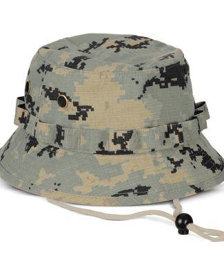 BA547 Big Accessories Boonie Hat GREEN CAMO