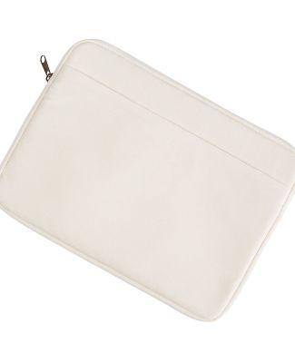 BE060 BAGedge 10 oz. Canvas Laptop Sleeve NATURAL