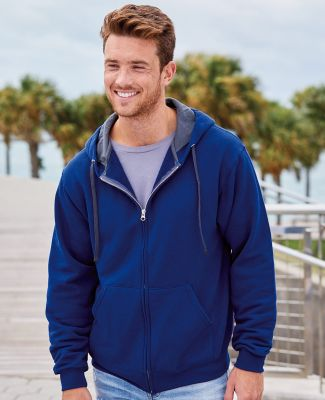 SF73R Fruit of the Loom 7.2 oz. Sofspun™ Full-Zip Hooded Sweatshirt Catalog