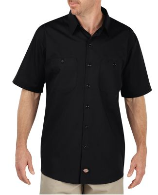LS516 Dickies 4.25 oz. WorkTech with AeroCool Mesh BLACK