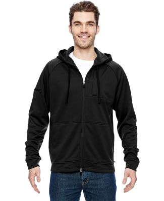 LJ536 Dickies 7.4 oz. Tactical Full-Zip Fleece Jac Black