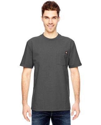WS450 Dickies 6.75 oz. Heavyweight Work T-Shirt CHARCOAL
