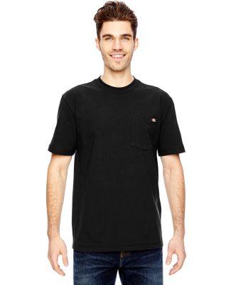 WS450 Dickies 6.75 oz. Heavyweight Work T-Shirt BLACK