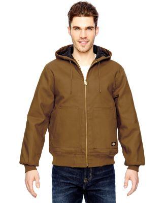 TJ718 Dickies Hooded Duck Jacket M - 6XL  BROWN DUCK