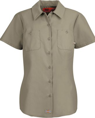 FS5350 Dickies Ladies' Industrial Shirt DESERT SAND