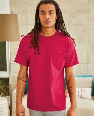5590 Hanes® Pocket Tagless 6.1 T-shirt - 5590  Catalog