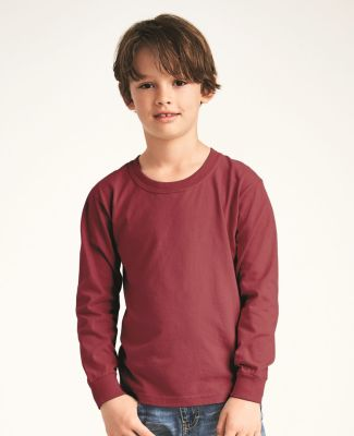 C3483 Comfort Colors Drop Ship Youth 5.4 oz. Garment-Dyed Long-Sleeve T-Shirt Catalog