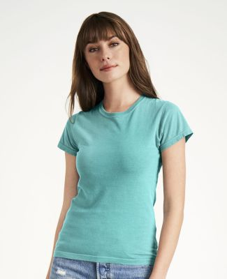 C3333 Comfort Colors Ladies' 5.4 oz. Ringspun Garment-Dyed T-Shirt Catalog