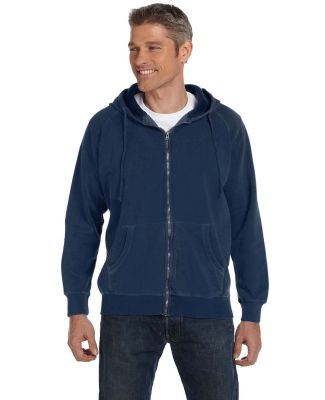 C1563 Comfort Colors 10 oz. Garment-Dyed Full-Zip  NAVY