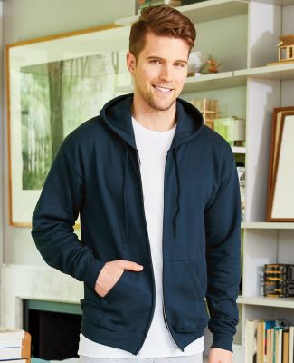 P180 Hanes® PrintPro®XP™ Full Zip Hooded Sweatshirt - P180 Catalog