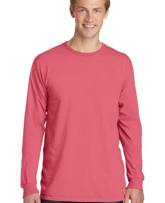 Port & Company PC099LS Pigment-Dyed Long Sleeve Te Fruit Punch