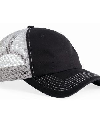 3100 Sportsman  - Contrast Stitch Mesh Cap -  Catalog