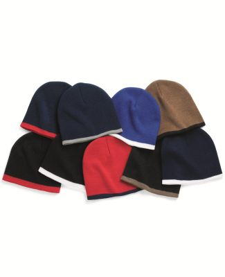 SP09 Sportsman  - 8 Inch Bottom Striped Knit Cap -  Catalog