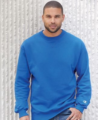 S1780 Champion Logo Cotton Max Crew Pullover Catalog