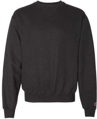 S1780 Champion Logo Cotton Max Crew Pullover sweat Black