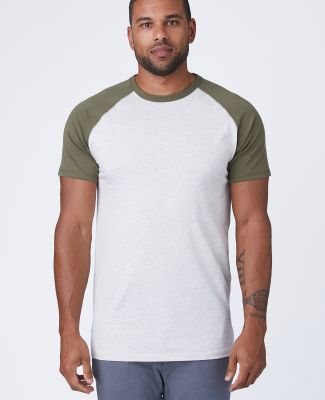 Cotton Heritage MC1083 Short Sleeve Raglan Tee Catalog