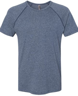 2050 Next Level Men's Mock Twist Raglan T-Shirt INDIGO