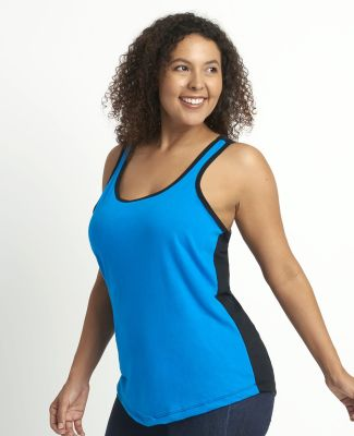 1534 Next Level Ladies Ideal Colorblock Racerback Tank Catalog