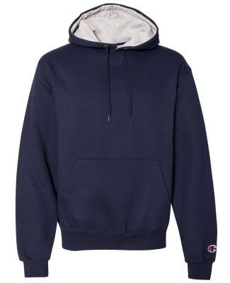 S1781 Champion Logo Cotton Max Pullover Hoodie Navy