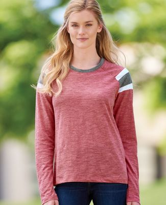 3012 Augusta Sportswear Ladies' Long-Sleeve Fanatic T-Shirt Catalog