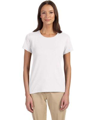 DP182W Devon & Jones Ladies' Perfect Fit™ Shell  WHITE