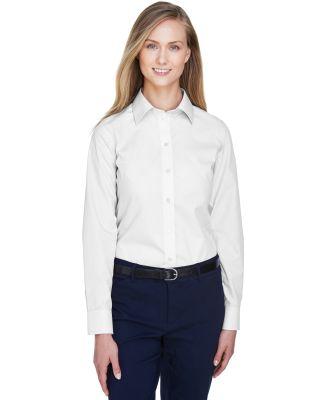 D620W Devon & Jones Ladies' Crown Collection™ So WHITE