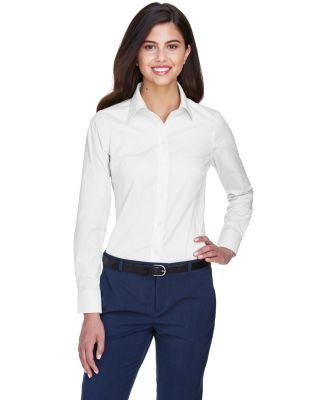 D630W Devon & Jones Ladies' Crown Collection™ So WHITE