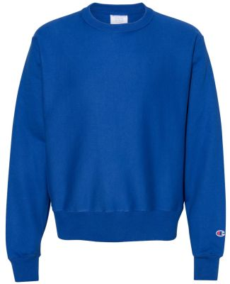 S1049 Champion Logo Reverse Weave Pullover Athletic Royal