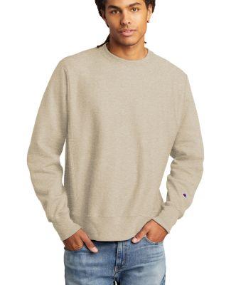S1049 Champion Logo Reverse Weave Pullover Sweatshirt Catalog