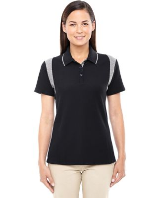 DG180W Devon & Jones Ladies' DRYTEC20™ Performan BLACK/ GREY HTHR