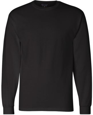 CC8C Champion Logo Long-Sleeve Tagless Tee Black