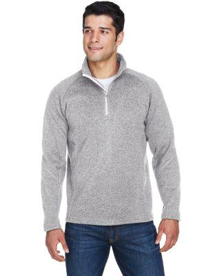 DG792 Devon & Jones Adult Bristol Sweater Fleece Q GREY HEATHER