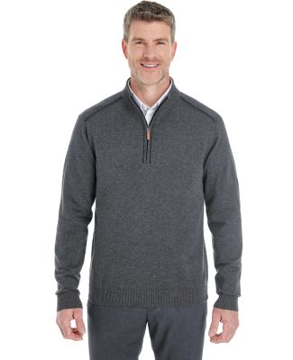 DG478 Devon & Jones Men's Manchester Fully-Fashion DK GREY HTH/ BLK