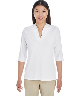 DP188W Devon & Jones Ladies' Perfect Fit™ Tailor WHITE