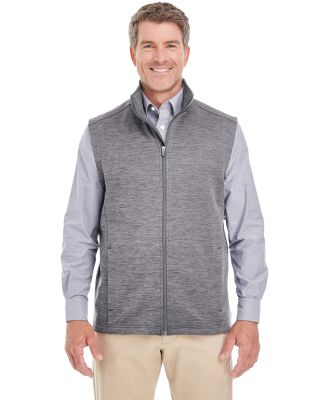 DG797 Devon & Jones Men's Newbury Mélange Fleece  DARK GREY HEATHR