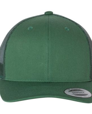 6606 Yupoong Retro Trucker Cap Evergreen