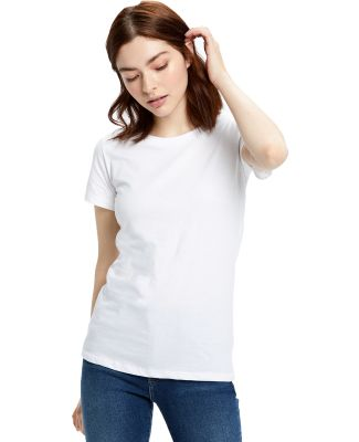US Blanks US100 Women's Jersey T-Shirt White