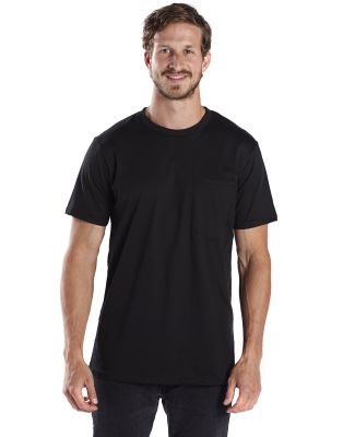 US Blanks US2017 Men's Pocket Tee Black